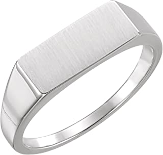 Continuum Sterling Silver 8.5mm Claddagh Ring Size 11