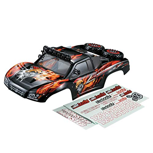 Heaviesk Killerbody Short Course Truck Monster RC Car Body