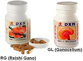 DXN Reishi Ganoderma & Ganocelium Capsules- Fruit & Root - RG & GL (90 + 90 Capsules) Combo Pack