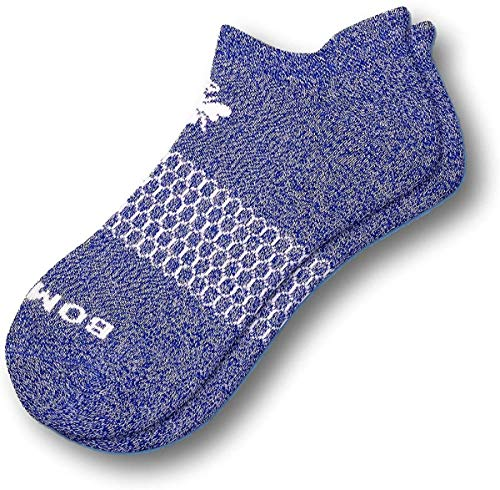 Bombas Women's Marls Ankle Socks, (Violet, Medium)