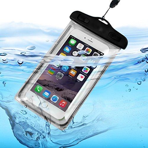 I de sonite universal de Transparente Teléfono Móvil, pasaporte, dinero Agua...