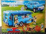 Playmobil 9502 Fun Park Pick up und Wohnwagen