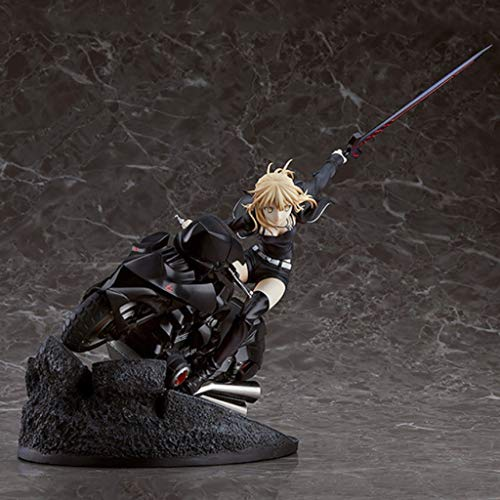 PY Toy Regalo Fate Stay Night Saber Arturia Pendragon Action Figure Motorcycle.Ver Modello Tatuaggi Fate Zero Doll Ornamenti