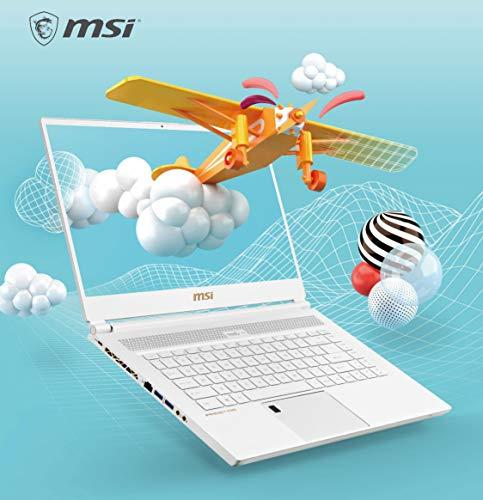 MSI P65 Creator 9SF-891FR Laptop, 15,6 inch FHD, Intel i7-9750H+HM370, NVMe RTX2070-8 GB, RAM 16 GB, 1 TB, W10P, 1,88 kg