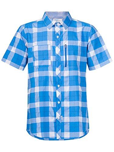 Bergans Jondal - T-Shirt Manches Courtes Homme - Bleu/Blanc Modèle S 2017 Tshirt Manches Courtes