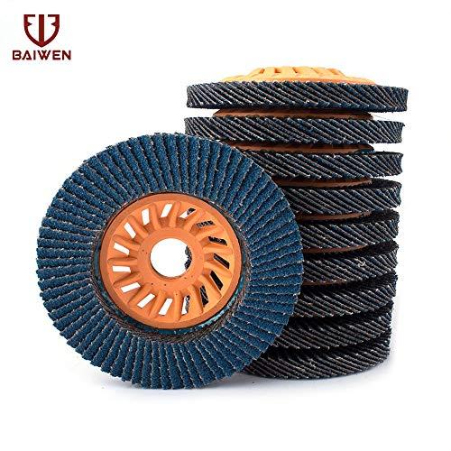 Amazing Deal Xucus 2-10Pcs Flap Disc Grinding Wheel 100mm grinding wheel 60Grit For Grinding Aluminu...