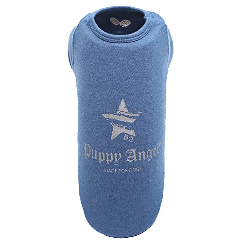 Puppy Angel Everyday T-Shirt pour Chien Bleu Taille 5XL