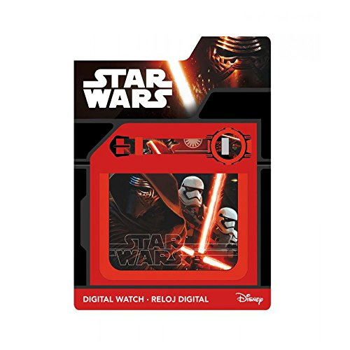 Set Portefeuille + Montre digitale Star Wars 7 VII Kylo Ren