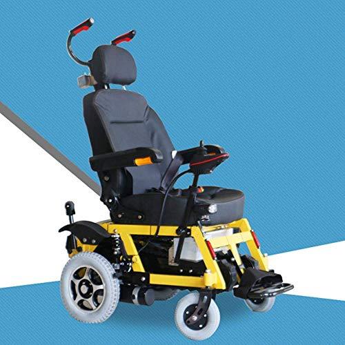 TWL LTD-Wheelchairs Silla de Ruedas Eléctrica, Escalada Silla de Ruedas Venta Directa Escaleras de Escalada Eléctrica Silla de Ruedas Arriba Escaleras de Silla de Ruedas Smart Old Men