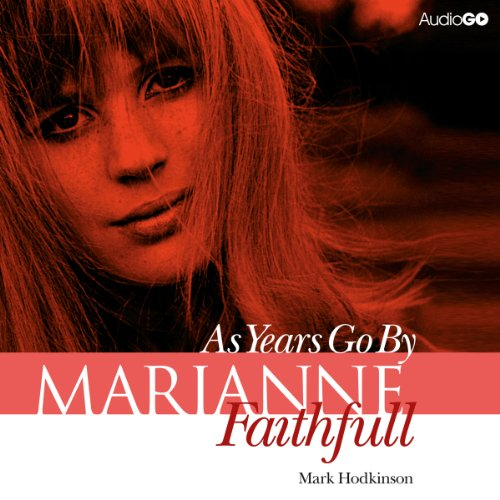 Marianne Faithfull audiobook cover art