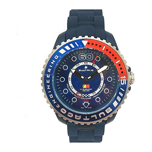 Bultaco Reloj Analog-Digital para Mens de Automatic con Correa en Cloth S0335012