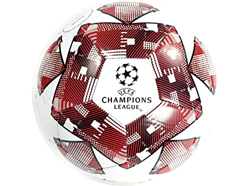 UEFA Champions League Football Size 5 Red 7693