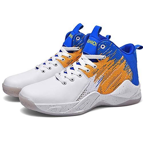 NUJO 2020 neue Basketballschuhe, Serie 021-1 (Farbe: White Orchid, Größe: 39)
