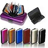 Best Aluminum Wallets - Goldenvalueable Aluminum Aluma Hard Case Credit Cards Wallet Review