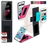 Hülle für HomTom HT3 Pro Tasche Cover Case Bumper | Pink