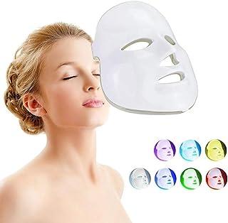フェイシャルマスク7色led光子美容機器しわにきび除去肌の若返りフェイススキンケア