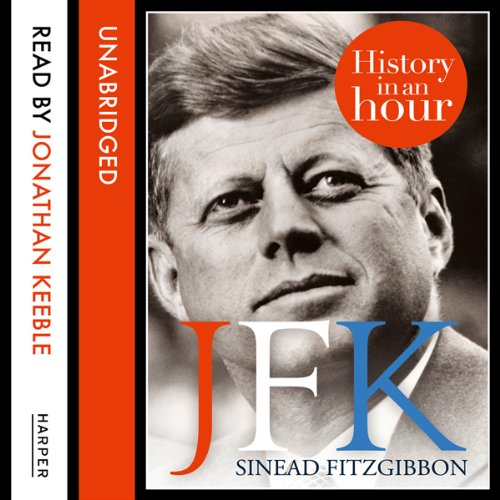 JFK: History in an Hour audiobook cover art
