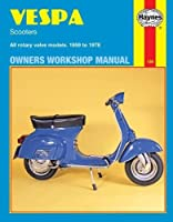 Vespa Scooters Owners Workshop Manual: All rotary valve models 1959 to 1978: No. 126 (Owners' Workshop Manual)