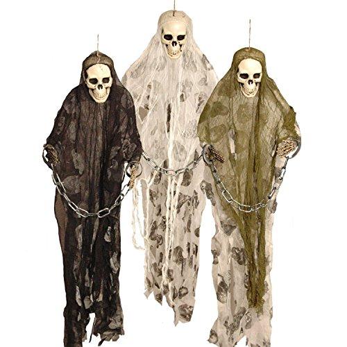 Fantasmas prisioneros con cadenas 91.5cm de largo