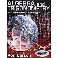 Bundle: Algebra and Trigonometry: Real Mathematics Real People 7th + WebAssign Printed Access Card for Larson's Algebra and Trigonometry: Real Mathematics Real People 7th Edition Single-Term【洋書】 [並行輸入品]