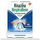 Rinazina Respirabene Cerottini Nasali 30 Classici - 38 g