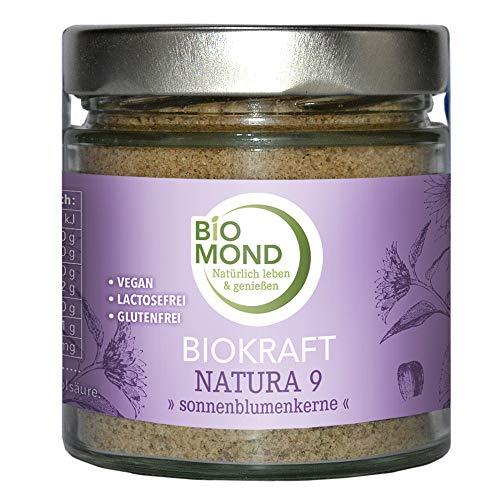 Biokraft-Natura Nr. 9 BIOMOND BIO Sonnenblumenkerne frisch gemahlen 200 g Müslizusatz Rohkostqualität