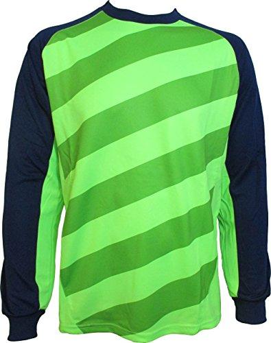 Vizari Padova Goalkeeper Jersey, Green/Navy, Youth Medium
