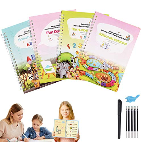 HURRY FREE English Magic Practice Copybook for Kids Clip the Extra 30% off Coupon & use promo code: 70R7OC67