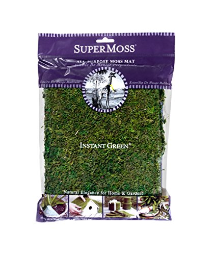 SuperMoss (22420) InstantGreen Moss Mat, Fresh Green, 18 x 16