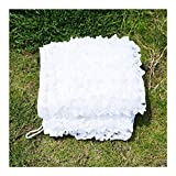 Red de camuflaje blanco para exteriores e interiores de nieve, toldos de malla para patios de jardín de 2 x 3 m, blanco, 3x10m/10x32ft