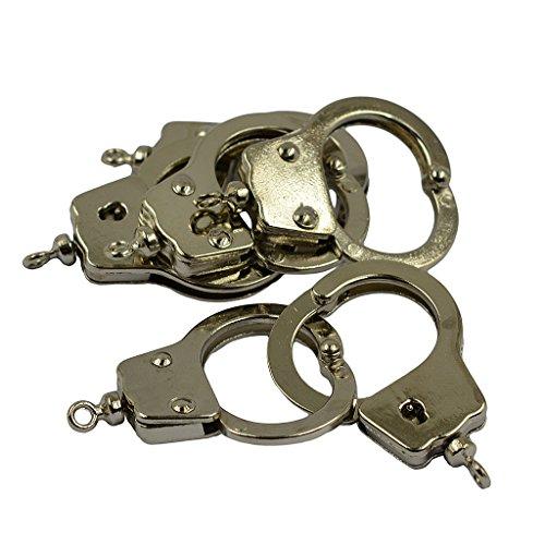 Unbekannt 6 STK. Mini Daumen Handschelle Reize DIY Schlüsselanhänger