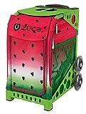 ZUCA Sport Watermelon Dew Insert with Green Frame with Flashing Wheels