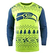 Soft and Warm Two-Tone Ugly Sweater is Sure to Get You Noticed, Offers Remarkable Comfort Features Sublimated Team Colored and Fun Holiday Graphics Officially Licensed, Show off Your True Team Spirit in a Festive Way! Machine Wash Cold Gentle Cycle, ...