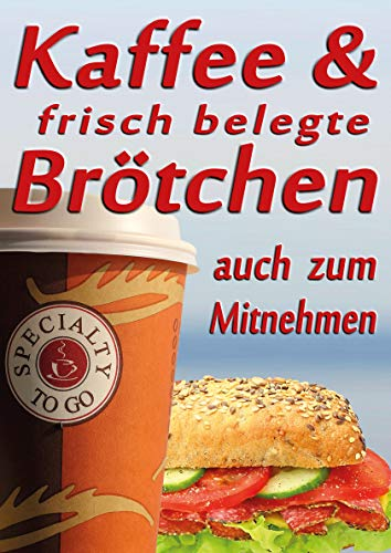 Poster koffie & belegde broodjes