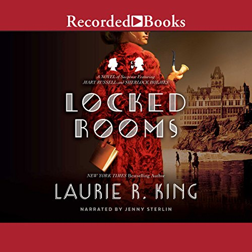 Locked Rooms  audiobook cover art