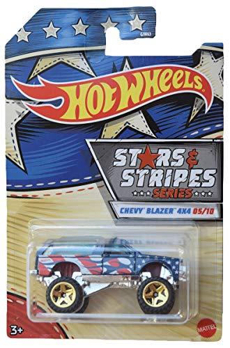Hot Wheels Chevrolet Chevy Blazer 4x4 Stars & Stripes Series 1:64