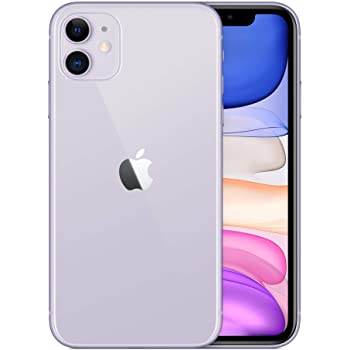 Apple iPhone 11, 64GB, Purple - For AT&T (Renewed)