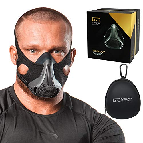 CASCADE FITNESS GEAR Training Mask 25 Resistance Levels