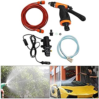 120 watt high pressure portable washing machine aC DC electric power Water Pump for car, wall, corridor, carpet, garden an...
