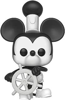 Funko Pop Disney: Mickey's 90Th - Steamboat Willie Collectible Figure, Multicolor