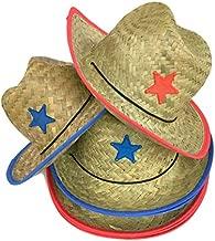 Playscene Children's Cowboy Hat with Sheriff Star (1 Dozen Pack) - Bulk