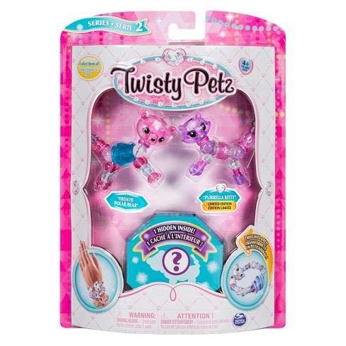 Twisty Petz - Serie 2 - 3er Pack - Frostie Eisbär und Purella Kitty