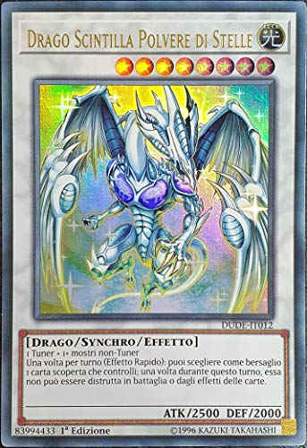 Yu-Gi-Oh - Drago Scintilla Polvere di Stelle - Rara Ultra - DUDE-IT012 Italiano