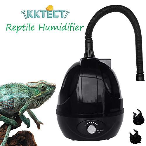 KKTECT Humidificador de Reptiles Humidificador de terrarios