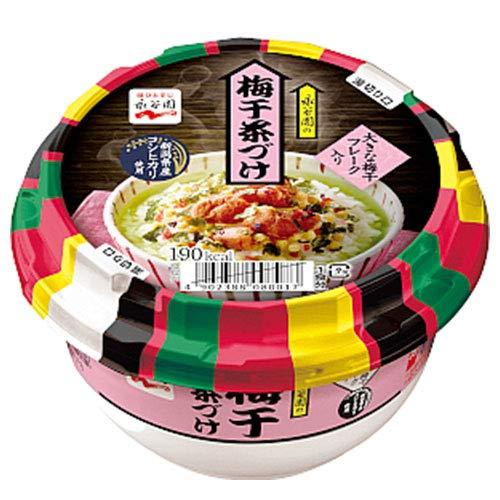永谷園 カップ 梅干茶づけ 126.6g×6個入×(2ケース)