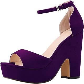 Melady Women Classic Sandals Ankle Strap
