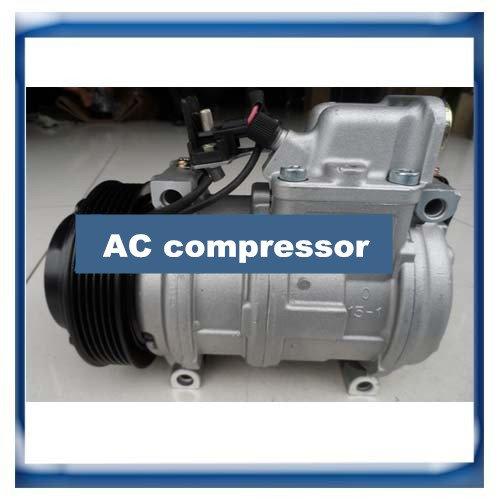 GOWE AC Kompressor für Denso 10PA17C für Mercedes-Benz W124 S124 Sprinter W126 R107 A124 R129 W638 A0002303611 A0002300511