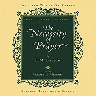 Necessity of Prayer audiobook cover art