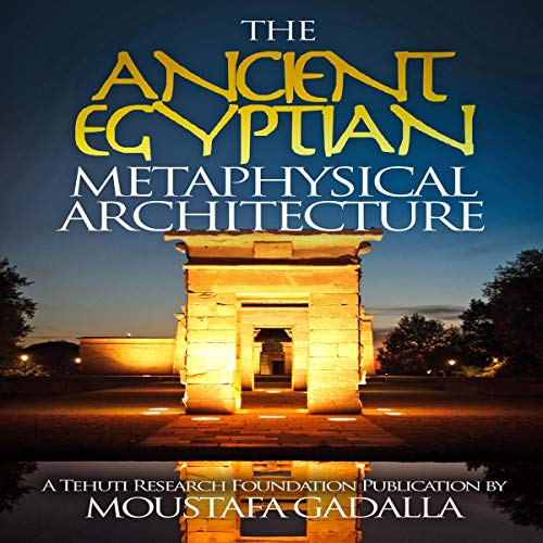 『The Ancient Egyptian Metaphysical Architecture』のカバーアート