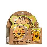 Adora 800285 Kindergeschirr-Set Tiger, Gelb